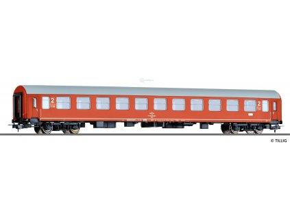 H0  - lůžkový vůz 2. třídy Bcme, Halberstadt, OSE / Tillig 74908