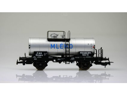 "H0 - Cisternový vůz R ""MLÉKO"" ČSD/ Tillig 76531"