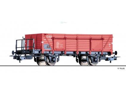 H0 - otevřený nákladní vůz Ut, ČSD / Tillig 76726