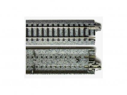 N - elektrická výhybka pravá 15° 186mm / KATO 20-203