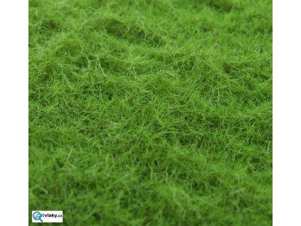 Statdekor - hrubý - zelená modřínová / Polák model 7851