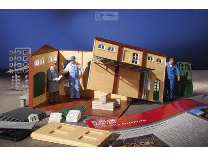H0 - Set pro stavbu průmyslových budov BKS / Auhagen 80050