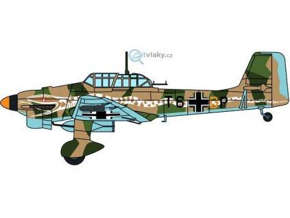"1:72 - Junkers Ju87 Stuka - 6/StG 2 ""Immelmann"" / HERPA 81AC085S"