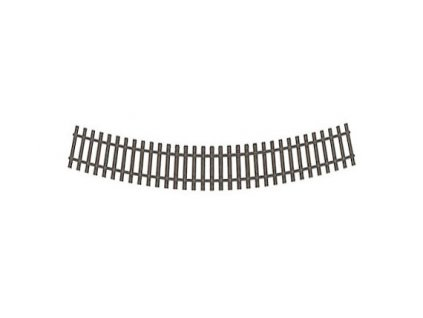 H0 - R1 - obloukový pražcový pás R 380 mm/ 22,5° / Tillig 82019