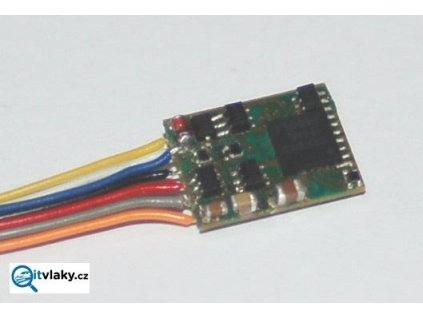 lokodekodér N45 na káblíku, ABC, SUSI, RailCom / KUEHN 82310