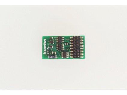 lokodekodér PluX16/NEM658 - T125-16, 1A, ABC, SUSI / KUEHN 82660