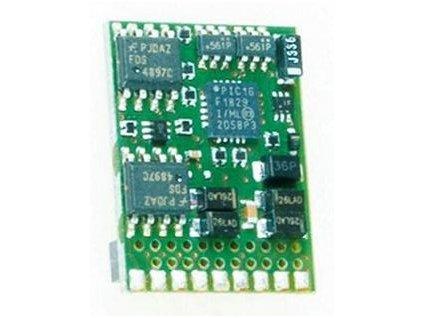 dekodér KUEHN T65-21, NEM660/MTC21 6  funkčních výstupů, RailCom / KUEHN 82770