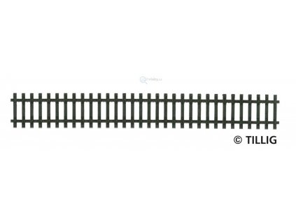 TT - Rovný pražcový pás 166 mm G1 / Tillig 83001