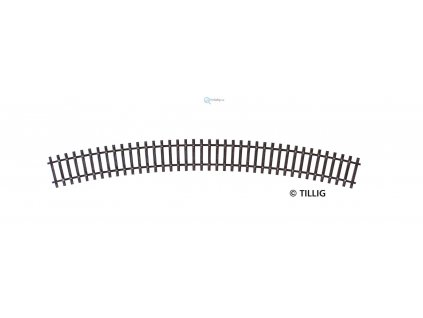 TT - R31 - obloukový pražcový pás R 396 mm/ 30° / Tillig 83011