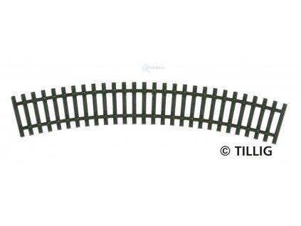 TT - R01 - obloukový pražcový pás R 267 mm/ 30° / Tillig 83016