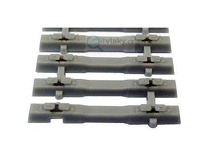 TT - Flexi pás s betonovými pražci 125 mm  - TILLIG 83034