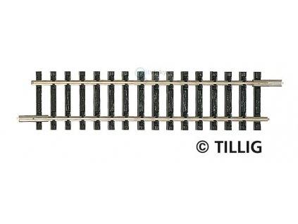 TT - Rovná kolej 83 mm, G2 bez podloží  / Tillig 83102