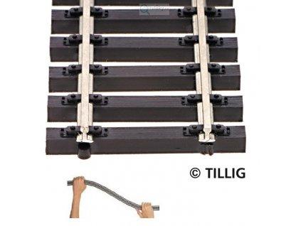 TT - Flexi kolej 664 mm, dřevěné pražce / Tillig 83125