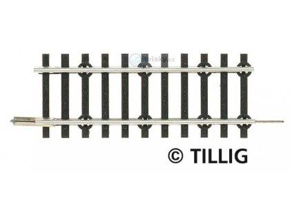 TT - Přechodová kolej standardní / modelové kolejivo 57 mm / Tillig 83132