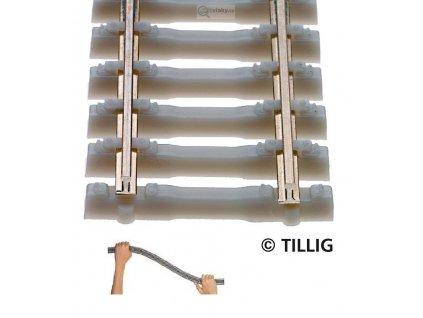 TT - Flexi kolej s betonovými pražci 500 mm / Tillig 83134
