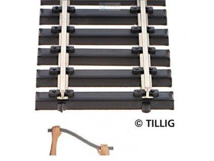 TT - Flexi kolej s ocelovými pražci 520 mm / TILLIG 83136