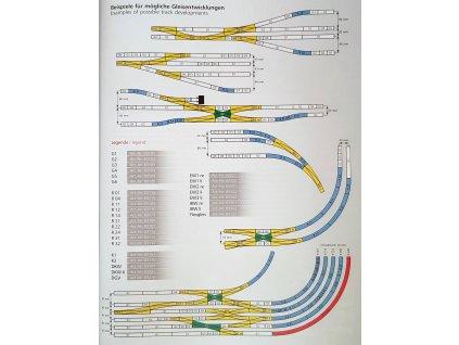 kolejový kříž 15° - nová verze / K1 -  TILLIG 83161