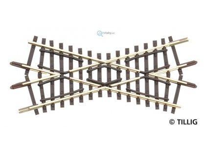 TT - kolejové křížení K2 86 mm 30°   / TILLIG 83170