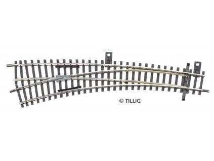 TT - oblouková výhybka levá IBW, R310/R631 vodivá srdcovka / Tillig 83364