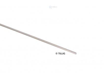 TT/H0 - Kolejnice profil I - prut 1 metr, 2,07 mm / Tillig 83500