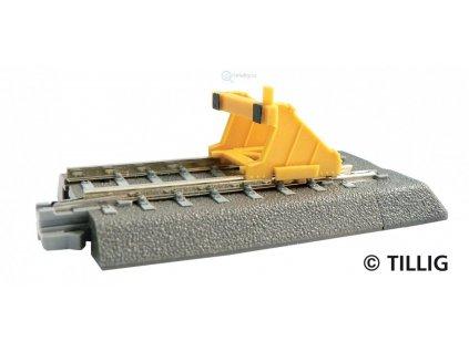 TT - Zarážedlo pro kolejivo se štěrkovým ložem / Tillig 83700
