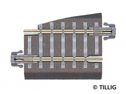 TT - BG5 kre - vyrovnávací kus, pravý / Tillig 83721