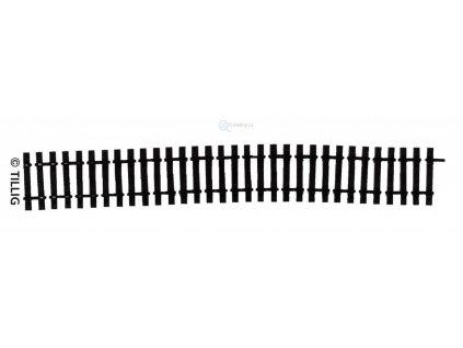 H0 - Dřevěné pražce flexi 220 mm / Tillig 85025