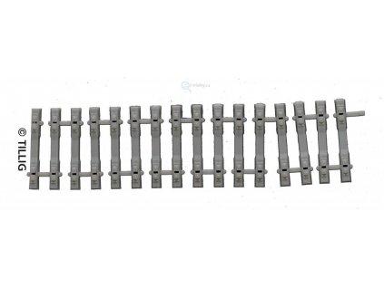 H0 - Betonové pražce flexi 110 mm / Tillig 85034
