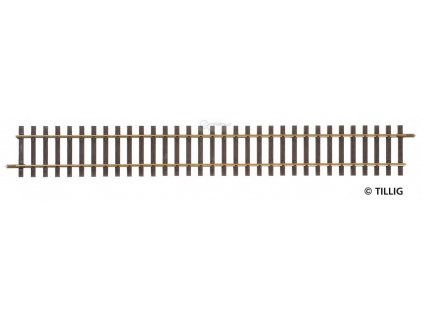 H0 - G1 - Rovná kolej 228 mm / Tillig 85118