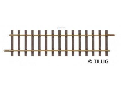 H0 - G2 - Rovná kolej 114 mm / Tillig 85124