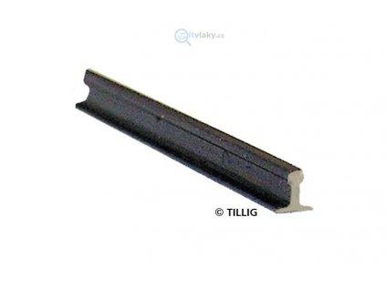 TT/H0 - Kolejnice profil I - prut 1 m,  2,07 mm mořený, brunýrováno / TILLIG 85500
