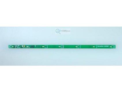 DCC osvětlení do vozů LH10 - 7ks teple bílé LED, dekodér / KUEHN 86010