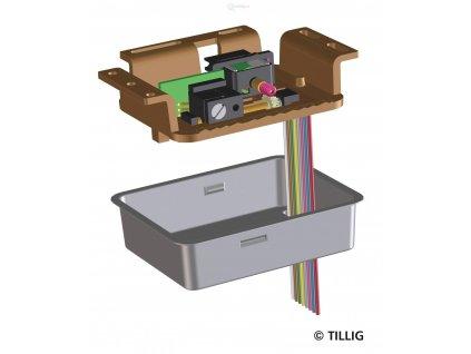 Motorický přestavník výhybek pro všechny typy výhybek / TILLIG 86112