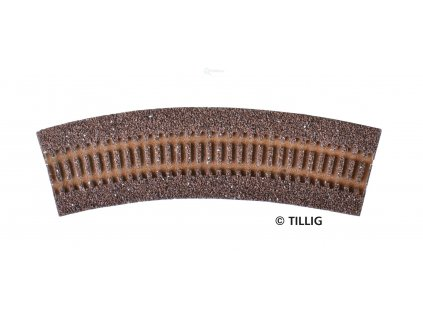 TT - Štěrkové lože pro R1 (R11 - R14) - tmavé / Tillig 86303