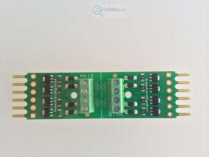 Adaptér MA10 ke Kuehn WD10 pro 4 motorické přestavníky / KUEHN 87020