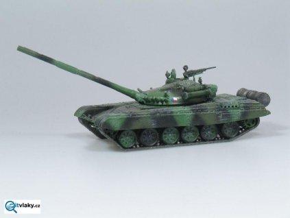 H0 - T-72M1 střední tank, stavebnice / SDV Model 87071
