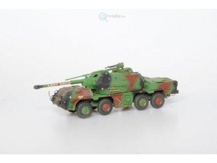 H0 - Samohybná houfnice DANA 152mm ShKH vz 77, stavebnice / SDV Model 87137