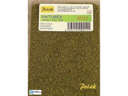 naturex  -  jemný, zelená savana / Polák Model 9011