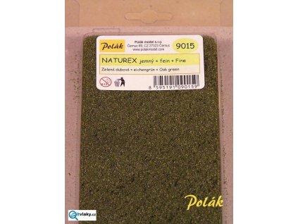 Naturex  -  jemný, zelená střední - dubová / Polák Model 9015