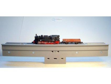 H0 - zařízení pro čištění dvojkolí lokomotiv a vozů / LUX-Modellbau 9301