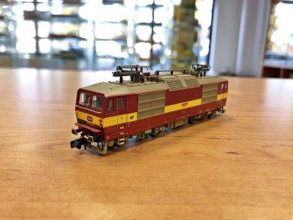 N - elektrická lokomotiva 372 ČD ,,Bastard,, / KUEHN 95012