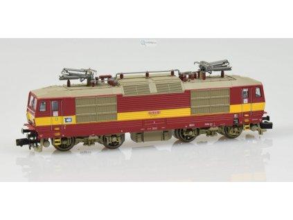 N - elektrická lokomotiva 372 ČD Cargo ,,Bastard,, / KUEHN 95014