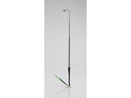 H0 - nádražní lampa, šedá / malosérie 9900020