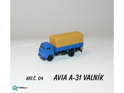 TT - Avia valník s plachtou sestavený model/AP0100x