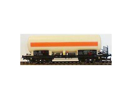 H0 - Cisternový vůz řady Zagks (Ra), Kovohutě, ČSD / Bramos 3571