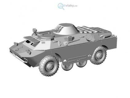 H0 - vozidlo BRDM-2 základní verze / IGRAH0 BRDM2 01