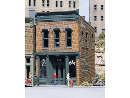 H0 stavebnice - Kellyho saloon / WOODLAND SCENICS 10100