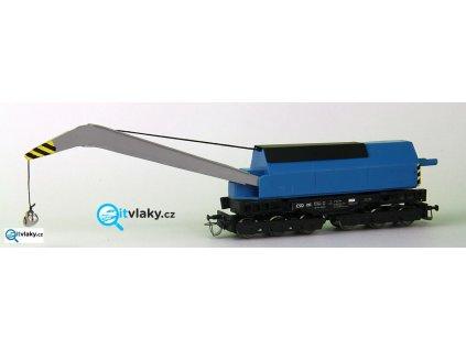 TT - kolejový jeřáb, ČSD / EDK350