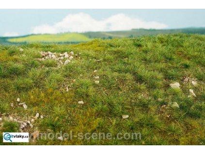 Časné léto - vápencové kameny S (slabě kamenité) / Model Scene F712
