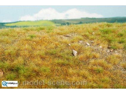 Pozdní léto - vápencové kameny S (slabě kamenité) / Model Scene F713